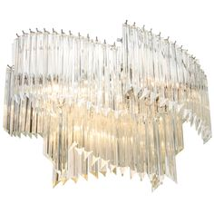 1stdibs.com | Mid Century Multi-Tiered Chandelier By Camer