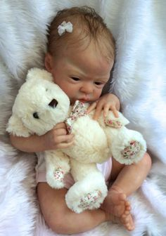 Baby Teddi from sold out Esme sculpt by Laura Lee Eagles 833/1250 | eBay