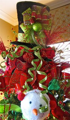 Christmas tree toppers, Top hats and Tree toppers on Pinterest