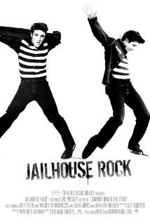 Jailhouse Rock (1957) After serving time for manslaughter, young Vince Everett becomes a teenage rock star.   Elvis Presley, Judy Tyler, Mickey Shaughnessy