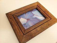 Rustic Barn Wood Picture Frame 4 by 6 photo by toliveforlove, $12.00