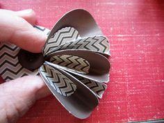 Paper Flower How-to | Vicki Chrisman for Fancy Pants Designs