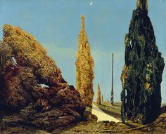 'Solitary and Conjugal Trees', 1940. Max Ernst