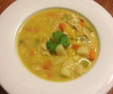 Recipe Chicken, Vegetable and Quinoa Soup by Thermo Sensation - Recipe of category Soups