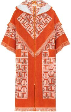 How rad is this swim beach cover up   robe  Tote nod to homemade towel robes  of the sixties! c4cbdab42