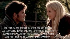 "The Captain Swan relationship will get even more complicated. | The 22 Most Convincing ""Once Upon A Time"" Fan Theories"