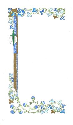 I designed this as a blank for a Blade of Diana award in the Barony of Black Diamond, . Blade of Diana Award 3 Medieval Books, Medieval Manuscript, Medieval Art, Illuminated Letters, Illuminated Manuscript, Printable Scrapbook Paper, Illumination Art, Calligraphy Alphabet, Borders And Frames