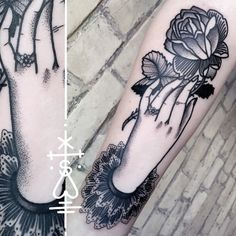 Beautiful Tattoo by Sarah Herzdame