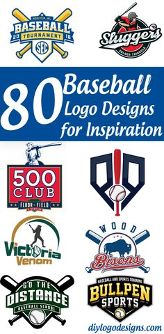 80+ Baseball Logo Designs for Your Inspiration. See full collection.