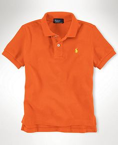 Ralph Lauren Kids Shirt, Little Boys Short-Sleeved Polo - Kids Toddler Boys, I think he has almost the colors of the rainbow