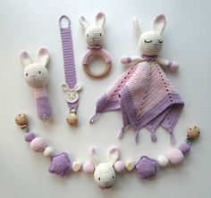 Maren Busterud's media content and analytics Crochet Lovey, Crochet Baby Toys, Crochet Toys Patterns, Crochet Gifts, Crochet Animals, Diy Crochet, Baby Patterns, Baby Knitting, Knitting Patterns