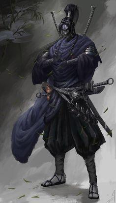 ArtStation - Superb martial arts of the Ninja, Carter adair Ninja Kunst, Arte Ninja, Ninja Art, Medieval Fantasy, Dark Fantasy, Fantasy Art, Ronin Samurai, Samurai Warrior, Real Samurai