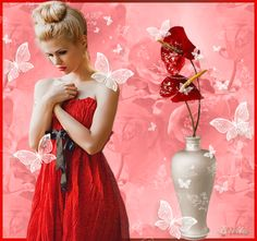 Imagens - (page 4) - Girls Dresses, Flower Girl Dresses, Rose, Beautiful, Wedding Dresses, Spring, Flowers, Gifs, Fantasy