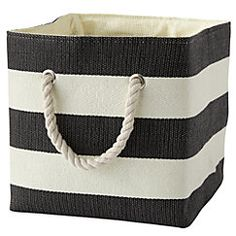 View larger image of Black Stripes Around the Cube Bin