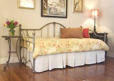 Berkeley Iron Daybed – St. Helena Home Handmade Iron Beds