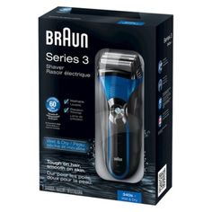 I'm learning all about Braun Men's  Series 3 Shaver at @Influenster!