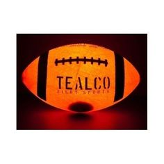 Sports Game Led Football Tough Full-Size Light Up glow in the dark ball Field #TealCo