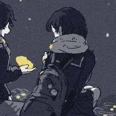 Anime Love Couple, Cute Anime Couples, Anime Friendship, Studio Ghibli Art, Trippy Wallpaper, Cute Love Memes, Anime Profile, Mood Pics, Avatar Couple