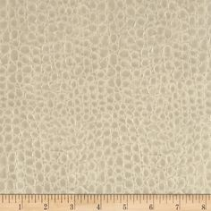 """Faux Leather Crocodile Pearl from @fabricdotcom  This upholstery weight faux fabric has a felt backing. This versatile fabric can be used for upholstery projects, picture frames, pillows, headboards craft projects, purses, fashion accessories and more! California residents click <a href=""""http://prop65.fabric.com/"""">here</a> for Proposition 65 information."""