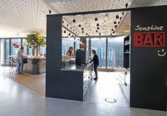 This Office Space Is Designed To Encourage Informal And Accidental Meetings