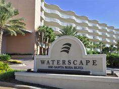 Waterscape A511 - Fort Walton Beach - Wyndham Vacation Rentals - Waterscape Condominium - Sign