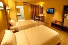 Hotel Sentral Kuantan - Deluxe Twin Room | https://www.facebook.com/HotelSentralKuantan