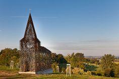See-through Church by Gijs Van Vaerenbergh | Yatzer