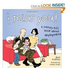 A military kid's book about deployment.