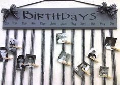 Birthday Board- craft ideas