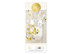 Heidi Swapp - MINC Collection - 3 Dimensional Butterflies