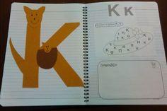 Κ Book Letters, Diy And Crafts, Alphabet, Projects To Try, Greek, Teaching, Education, School, Books