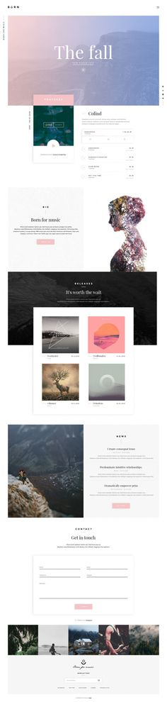 Popular — Designspiration Website Layout, Website Header Design, Website Ideas, Minimal Website Design, Minimal Design, Ui Ux Design, Layout Design, Design Blog, Web Layout