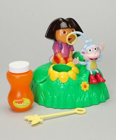 Take a look at this Dora the Explorer Bubble Machine by Dora the Explorer on #zulily today!