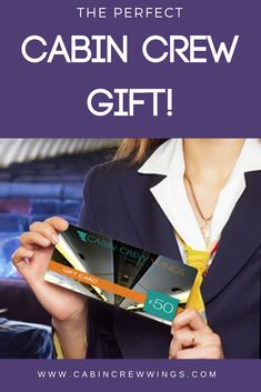 Know someone who wants to be Cabin Crew? Our Cabin Crew Wings gift voucher can be purchased for an amount of your choice and can be used as full or part payment for our e-books, courses and more! Cabin Crew Jobs, Crew Hair, Guest Cabin, Gift Vouchers, Gift Certificates, Flight Attendant, Special Gifts, Real Life, Wings