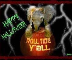 Roll tide Big Al Halloween ALABAMA Football