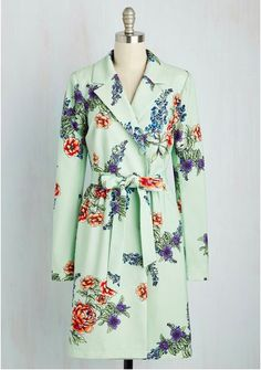 Profound Pizzazz Trench by Modcloth