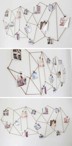 idee-cadre-photo-pele-mele-jolie-decoration-murale-avec-cadres-photo