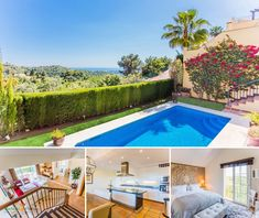 South-facing immaculate villa for sale in Istán, Marbella, with breathtaking views over the mountains and the Mediterranean towards Gibraltar and Northern Africa coastline. Luxury Property For Sale, Villa, Africa, Mountains, Outdoor Decor, Home Decor, Decoration Home, Room Decor, Interior Design