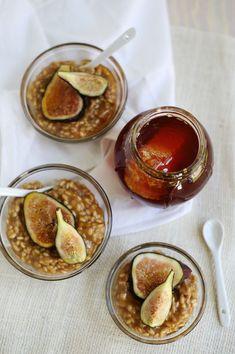 Brown sugar rice pudding (click through for recipe)