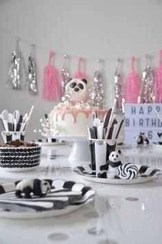 Panda-synttärit    Panda party Panda Party, Birthdays, Kids, Pandas, Anniversaries, Young Children, Boys, Birthday, Children