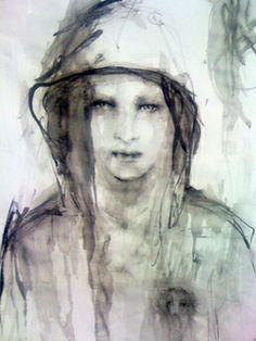 "Saatchi Art Artist Fiona Maclean; Painting, ""Lucky's Heart"" #art"