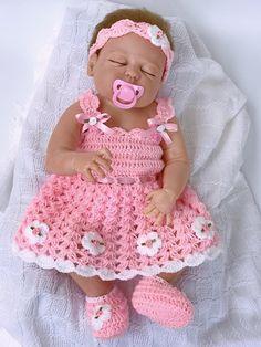Baby dress pink baby dress Crochet baby dress baby shower gift Coming Home outfit Baby Easter Dress baby Clothing Flower girl dress Babykleid rosa Baby häkeln Babykleid Baby-Dusche-Geschenk Crochet Baby Dress Pattern, Crochet Bebe, Crochet Baby Clothes, Crochet Shoes, Crochet Gifts, Crochet Patterns, Crochet Outfits, Flower Crochet, Crochet Cardigan