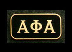 Bow Ties and More.com - Alpha Phi Alpha Greel Letter Rectangular Lapel Pin . ALP4 , $7.99 (http://bowtiesandmore.com/divine-nine-fraternity-shop/alpha-phi-alpha-greel-letter-rectangular-lapel-pin-alp4/)
