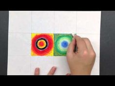 https://sites.google.com/site/kandinskyconcentriccircles/    This is a short video demonstrating a project that I do with my fifth grade students.  It is based on Concentric Circles by Wassily Kandinsky and is completed using oil pastels on while paper.