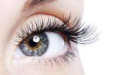 Beautiful Eyes Close Up Lash Extension Photo