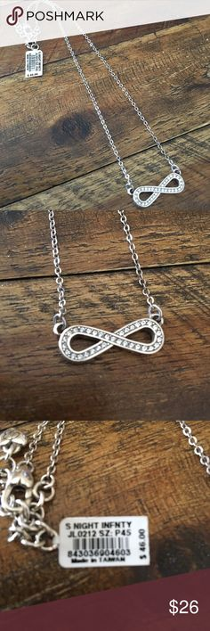 """NWT Brighton Starry Night Infinity Necklace -WoW- NWT Brighton Starry Night Infinity Necklace -WoW-  15 3/4""""- 17 3/4"""" Never Worn with tags Brighton Jewelry Necklaces"""