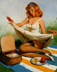 Top 50 Hottest Vintage Pin-Ups