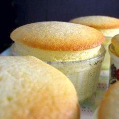 Individual Meyer Lemon Pudding Cakes