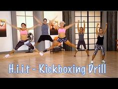 HIIT Workout | Turbo Round 63 | KICKBOXING TURBO KICK WITH CHRISTINE DWYER - YouTube