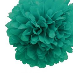 Teal Green 10cm Tissue Paper Pom Poms : The Party Cupboard : Online Party Supplies Store Australia | The Party Cupboard